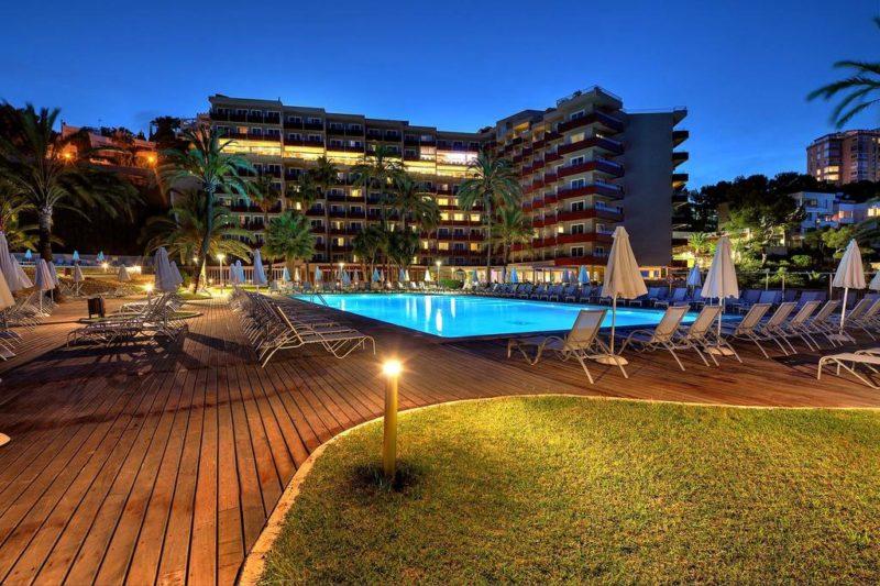 RIU PALACE BONANZA PLAYA HOTEL, MAJORKA 1